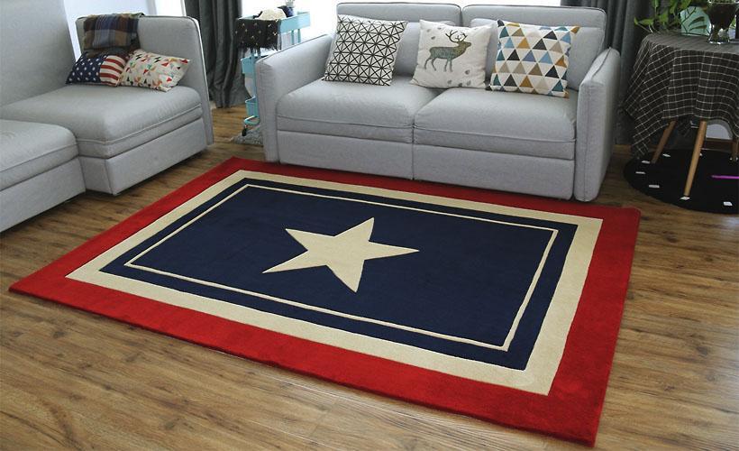 ковры из акрила капитана америки