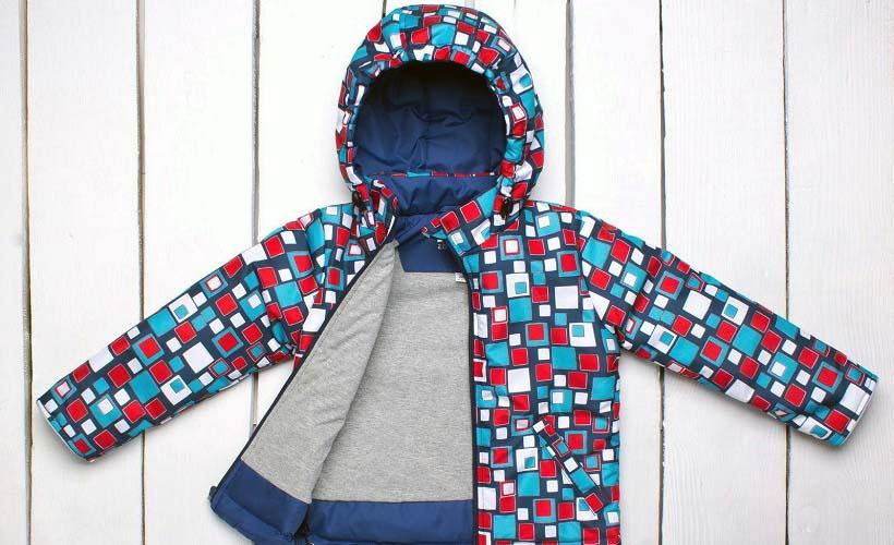 детская куртка из дюспо