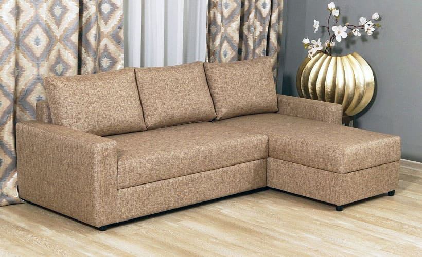 диван из рогожки
