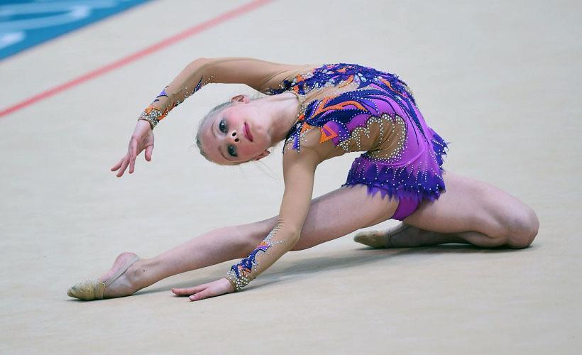 гимнастический костюм из бифлекса