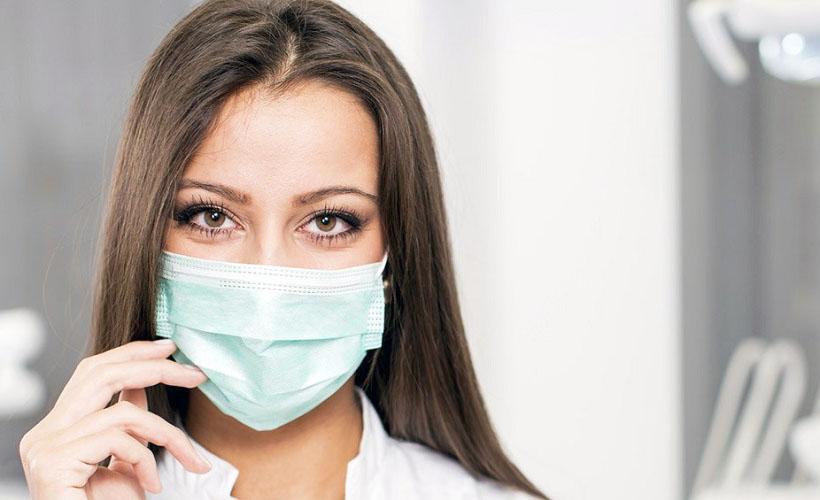 медицинская маска из нетканого материала