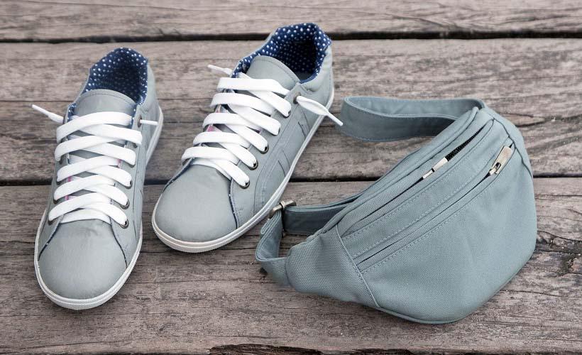 обувь из канваса