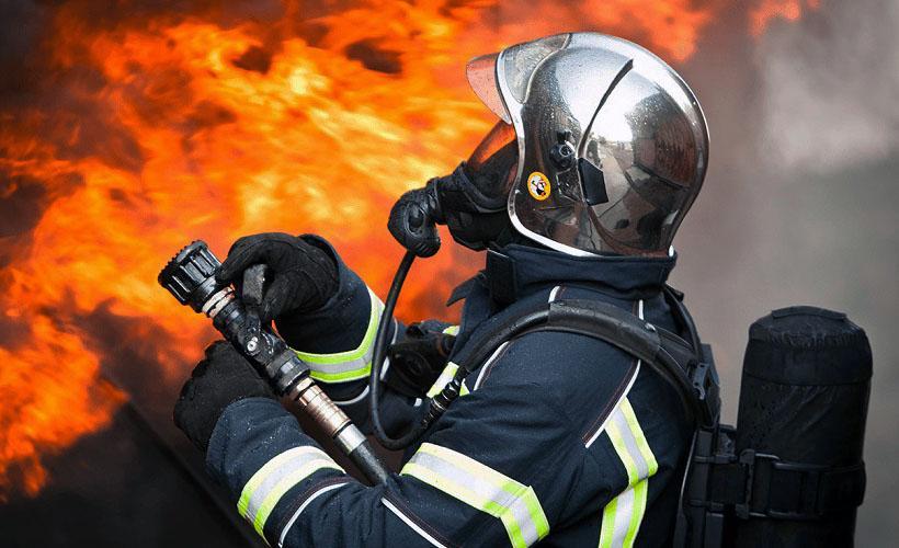 огнеупорный костюм с использование асбеста