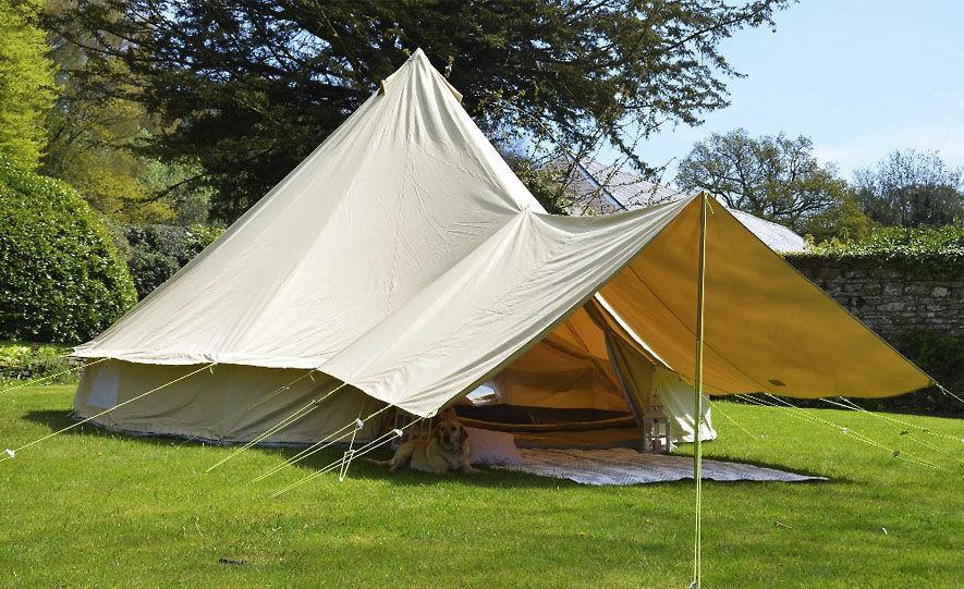 палатка из брезента