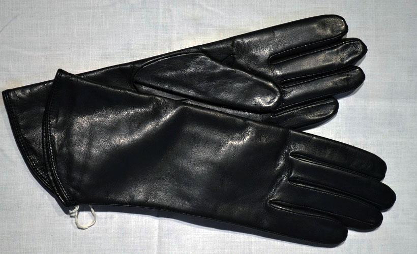 перчатки из кожи наппа