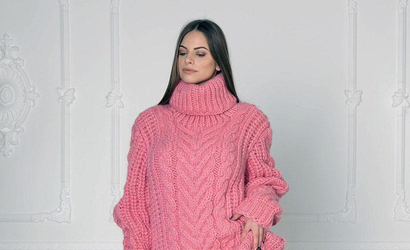 свитер из вирджинской шерсти