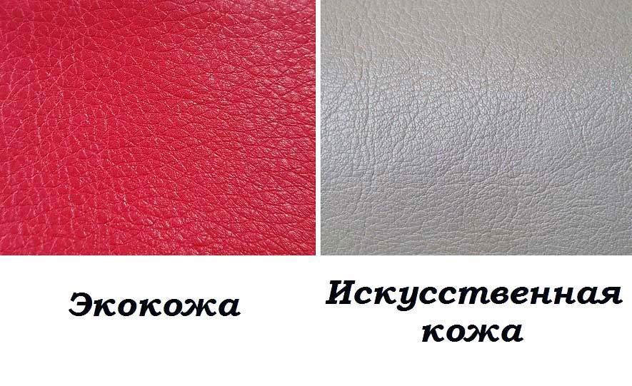 экокожа и искусственная кожа