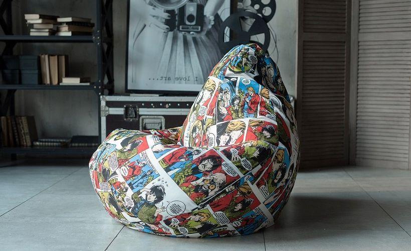 кресло-мешок из скотчгарда