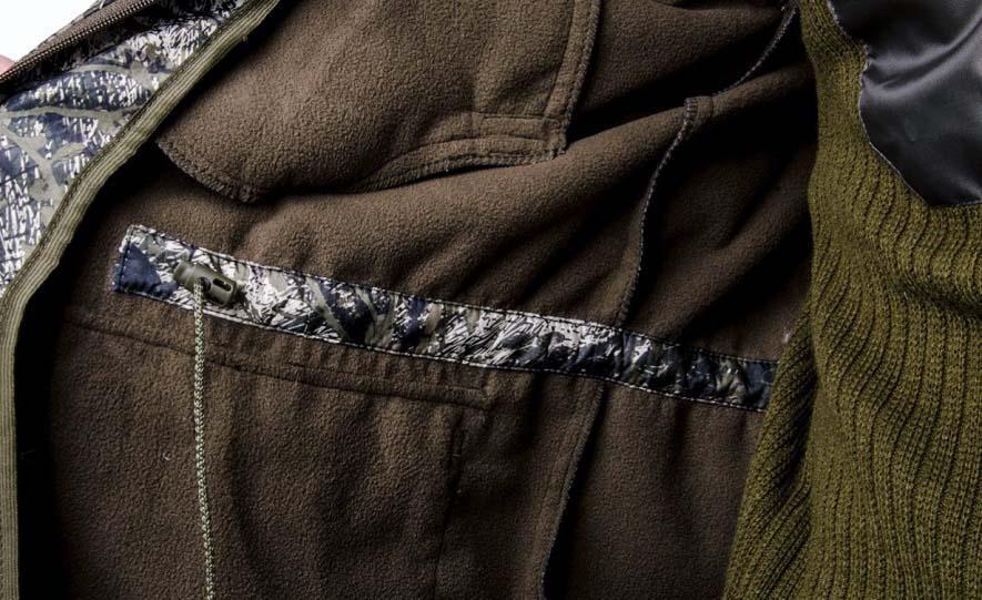 куртка из полофлиса