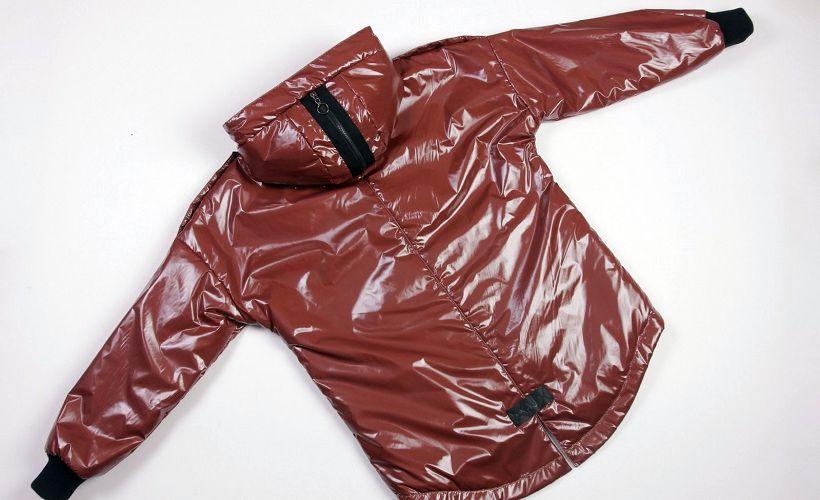 куртка из ткани лаке