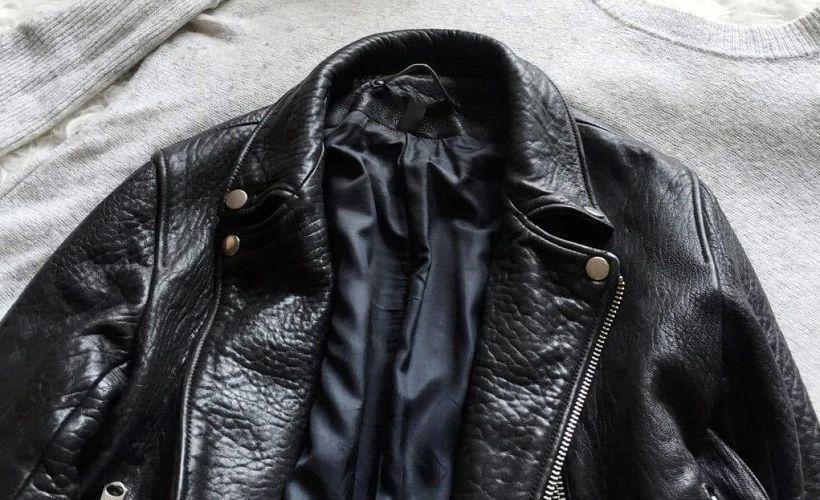 куртка из винилискожи