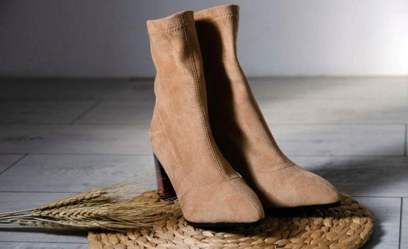 обувь из флока