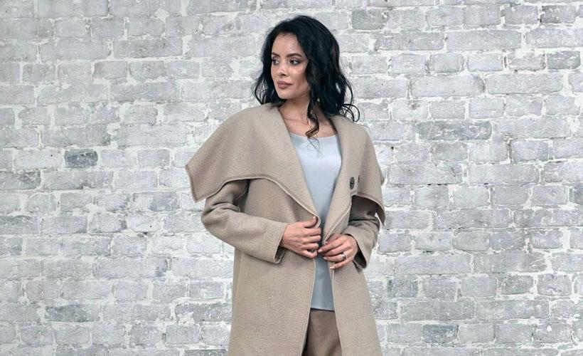 пальто из лодена