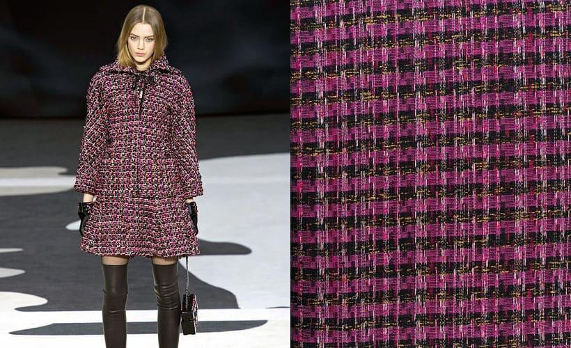 пальто из ткани шанель