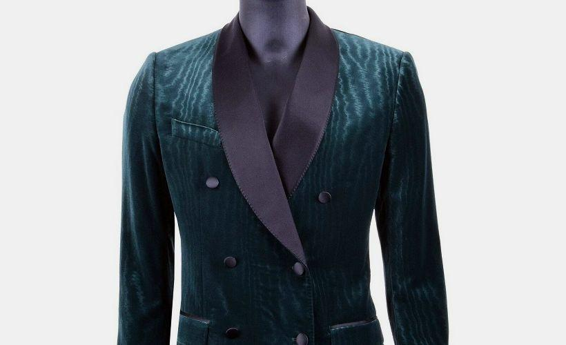 пиджак бархатный муар