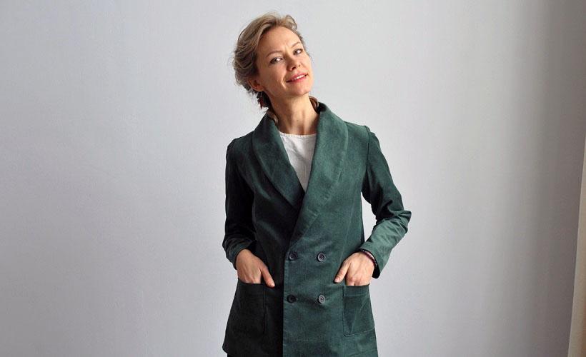 пиджак из корда