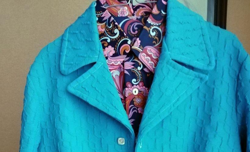 пиджак из кримплена