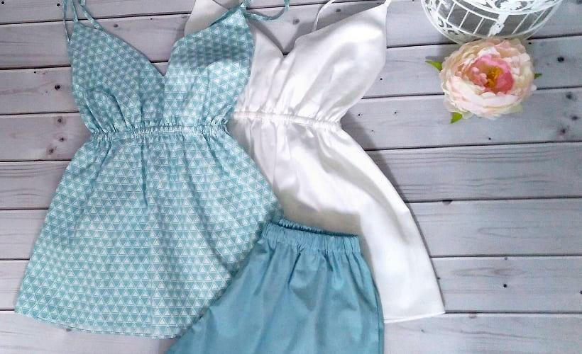 пижама из сатина