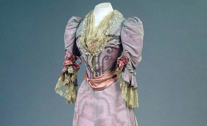 платье из муара