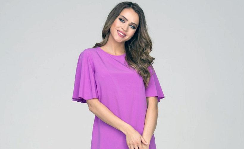 платье из ткани ниагара