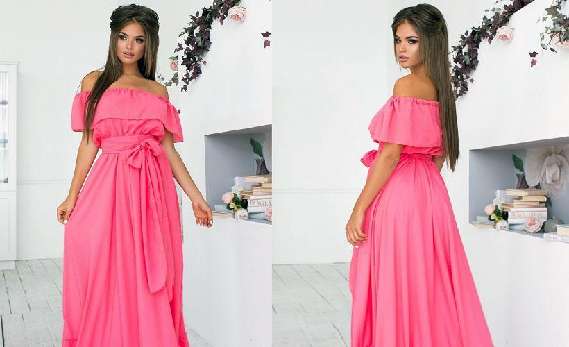 платье микромасло