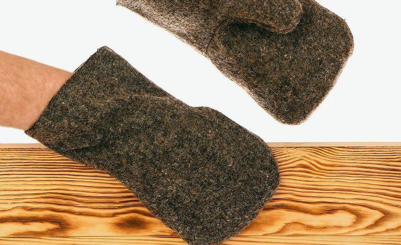рукавицы из сукна