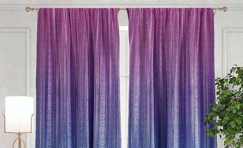 шторы из муара