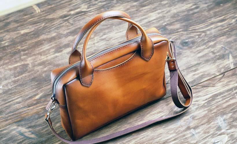 сумка из кожи