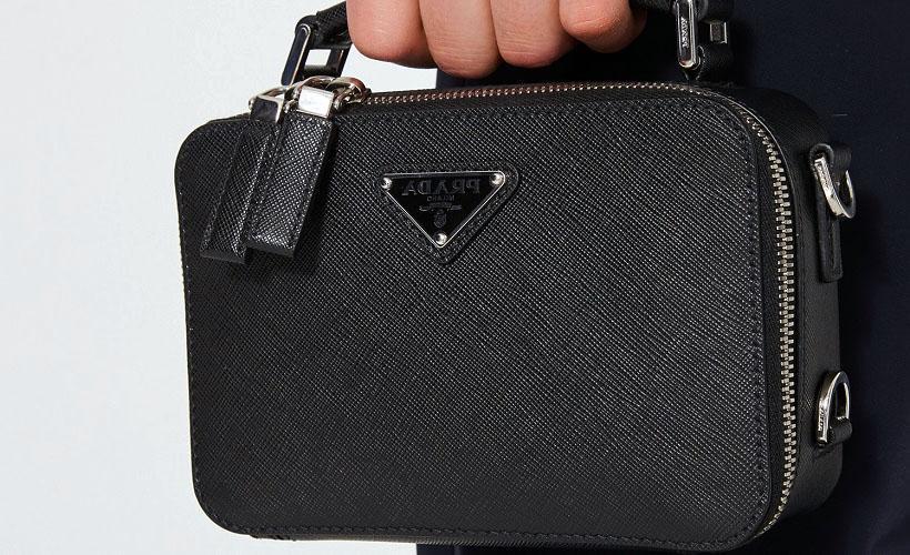 сумка из сафьяновой кожи