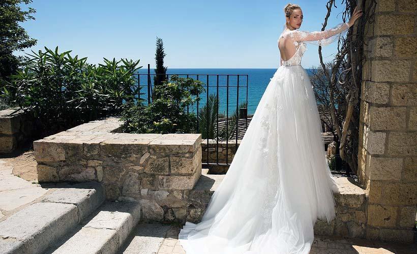 свадебное платье из вуали