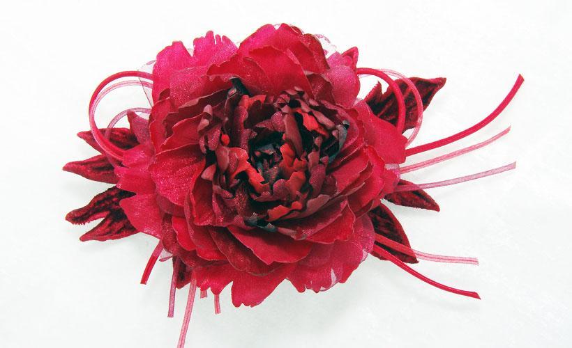 цветок из кристалона для декора
