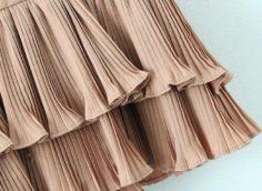Гофрированная ткань