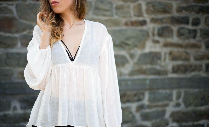 блузка из марлевки