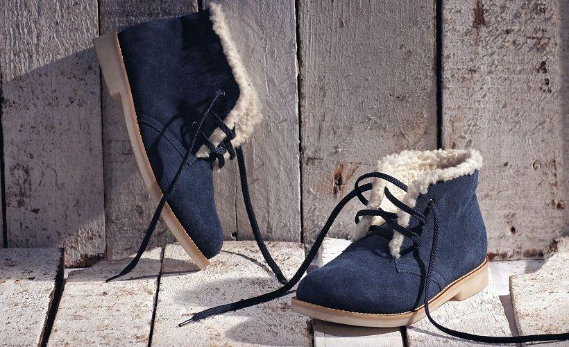 ботинки кожа спилок