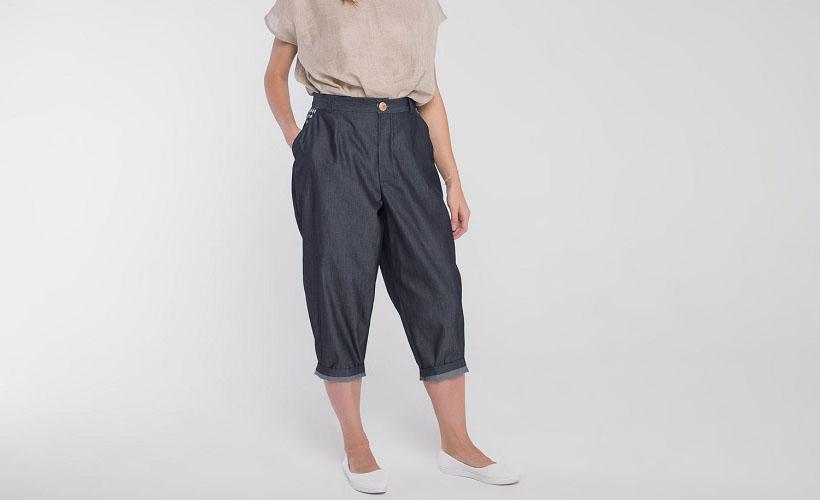 брюки шамбре
