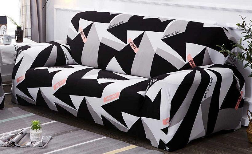 чехол на диван спандекс
