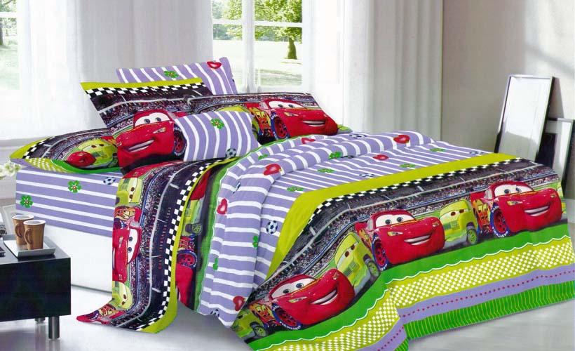 детское постельное белье слим-сатин