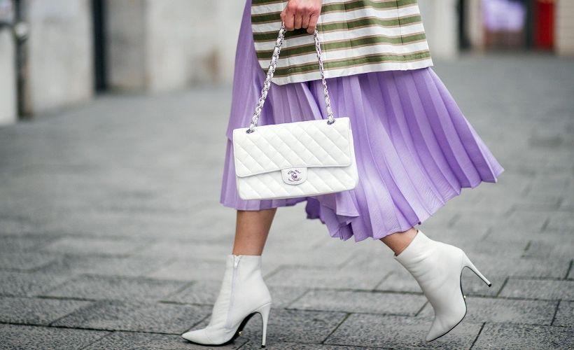гофрированная юбка