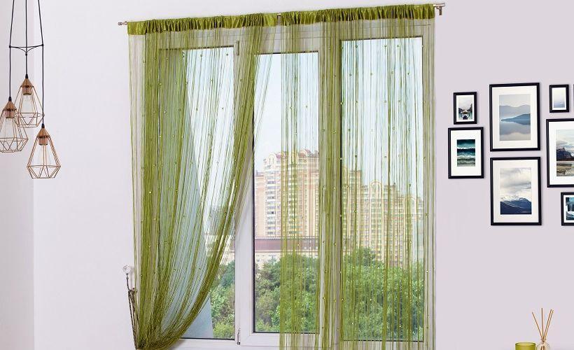 кисея шторы