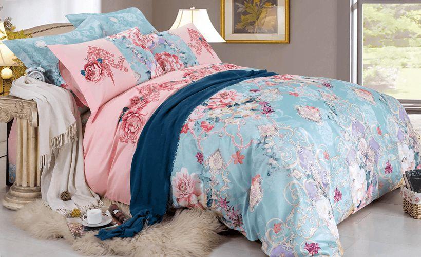 комплект постельного белья полиэстер