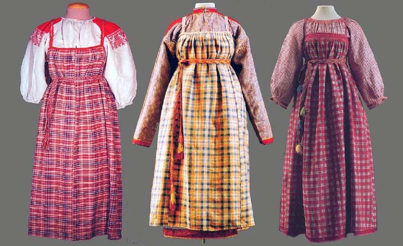 национальные костюмы ткань сарпинка