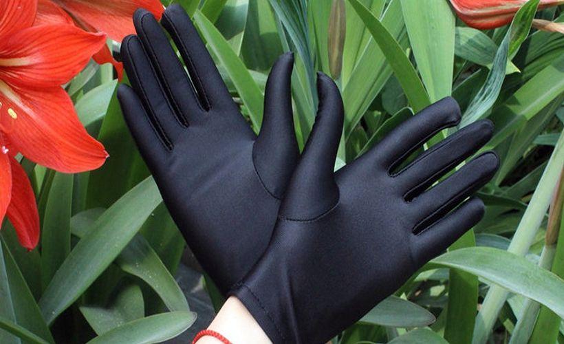 перчатки спандекс