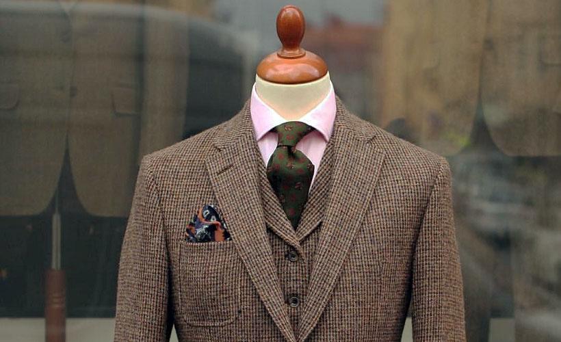 пиджак ткань шевиот