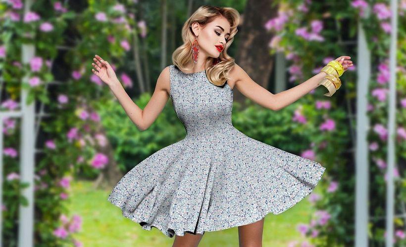 платье перкаль