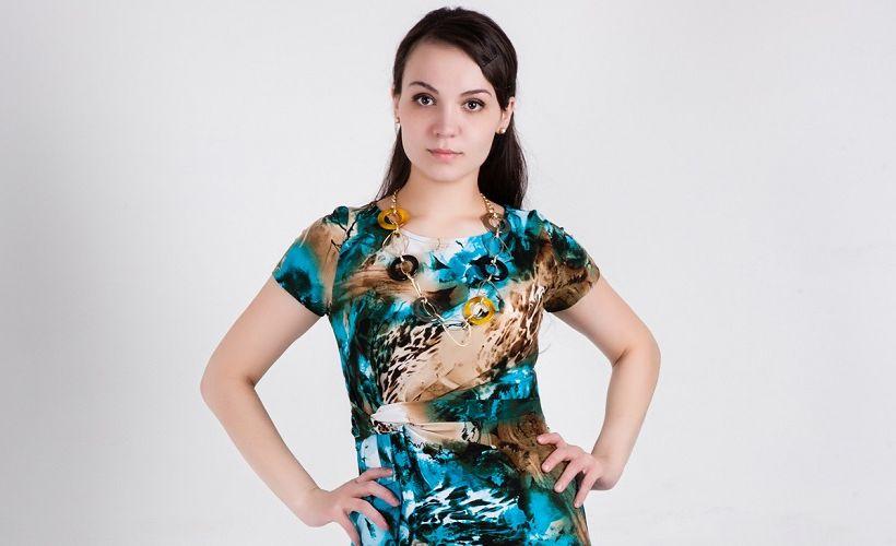 платья из трикотина