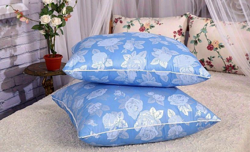 подушки ткань тик