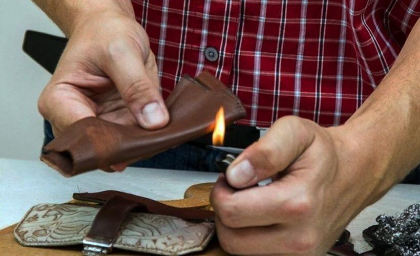 проверка кожи огнем