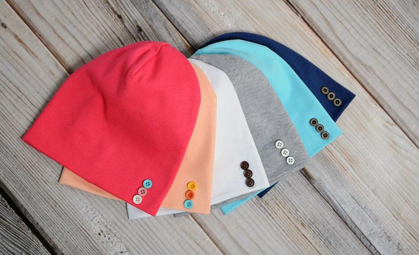 шапка из рибаны