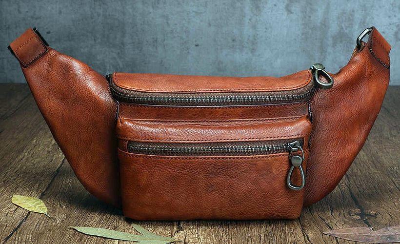 сумка из яловой кожи