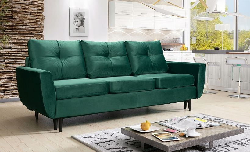 диван из велюра